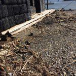 超大型台風21号通過の朝 志摩市英虞湾真珠養殖場より